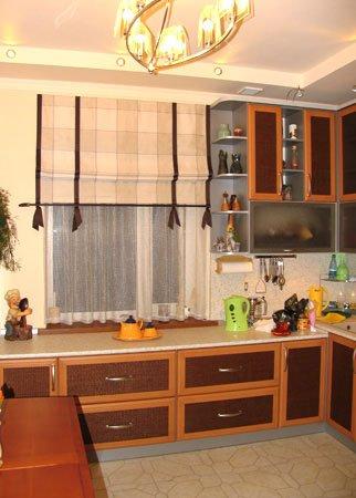 Шторы для кухни -10